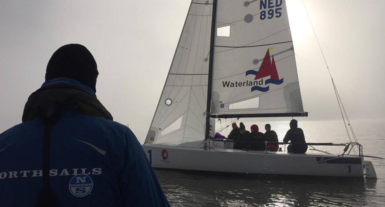 j70 training north sails trim